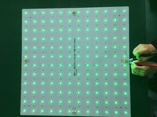 Led Aluminum PCB board add wago connector square pcb 300*300mm